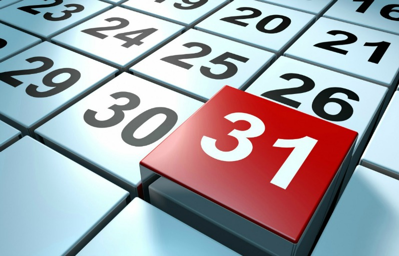 31 March Calendar end of fringe benefits tax year