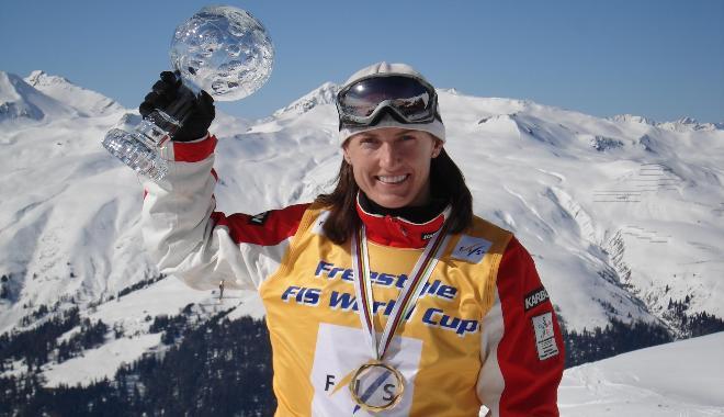 Jacqui Cooper Aerial Skiier