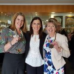 Daleene, Jacqui Cooper and Helen at the PRA Ladies Cocktail Luncheon