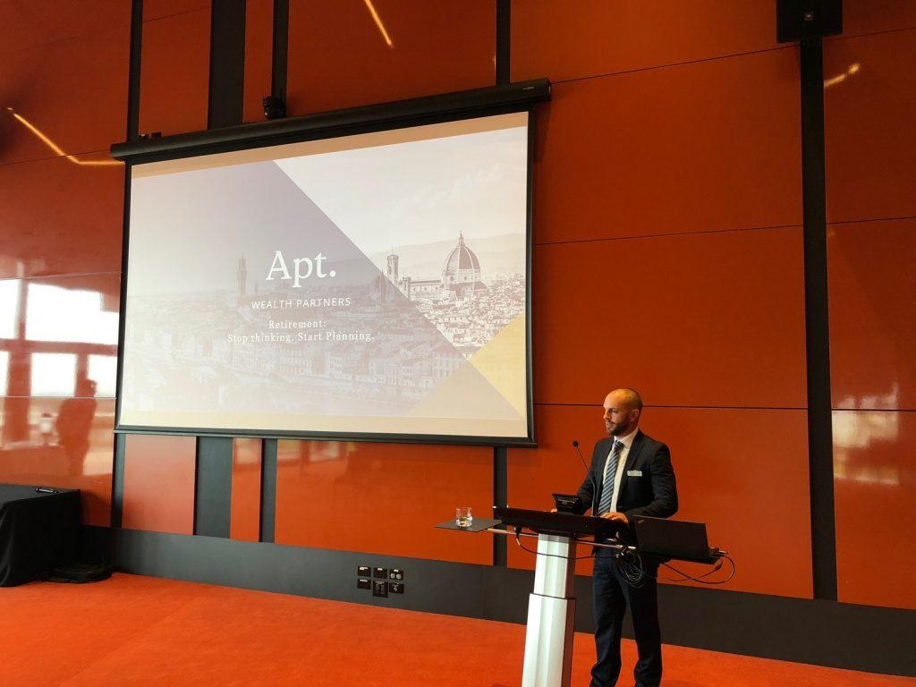 David Apt Wealth Partners Retirement Seminar