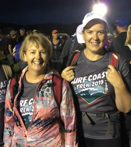 Patrick Rowan employees took part in the SurfCoast Trek 2019