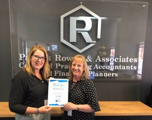 Patrick Rowan & Associates support Give Where You Live Geelong