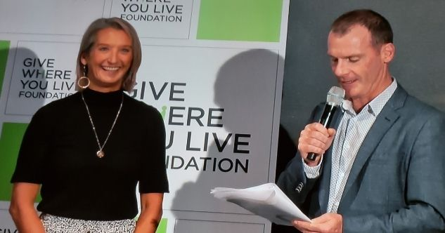 Give Where You Live. Layne Beachley.